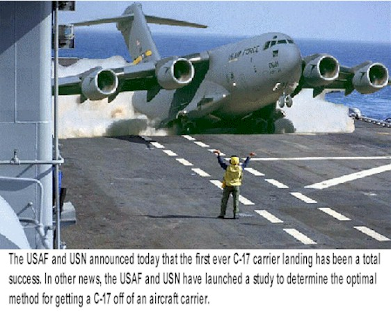 C 17 On Aircraft Carrier C-17 Aircraft Carrier ...