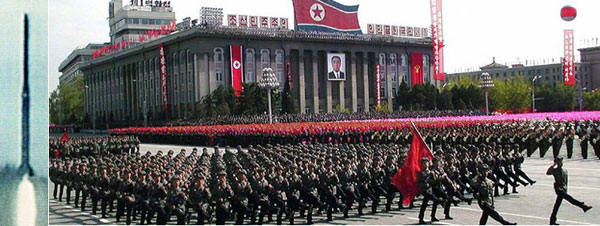 the north korean army. North Korea military parade