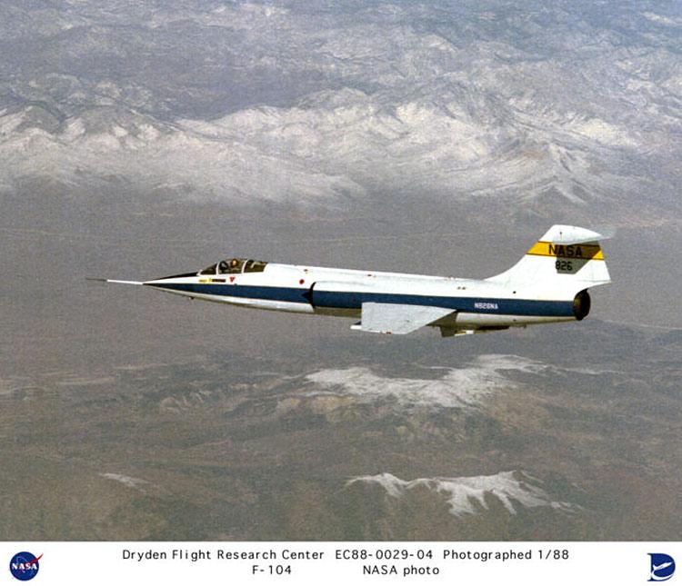 Lockheed F-104 Starfighter - NASA