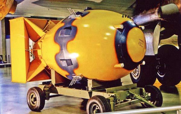 FAT MAN NUCLEAR BOMB NMUSAF