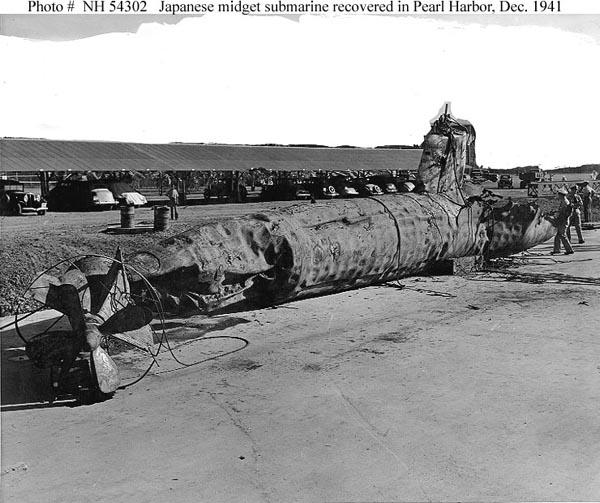 Midget Sub Found In Pearl Harbor 37